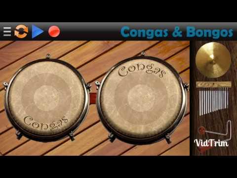 Tocando pagodão na percussão virtual 🎶Léo Santana-Contatinho🎶