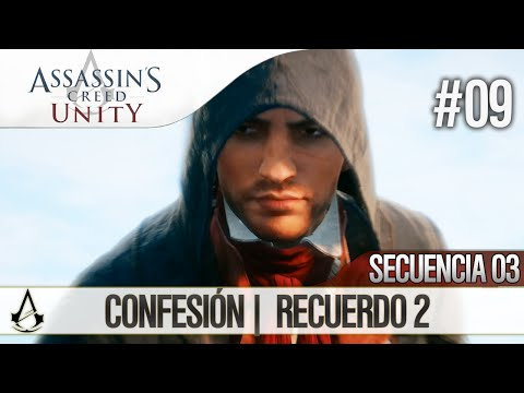 Assassin's Creed Unity | Guía en Español Walkthrough | Secuencia 3 | Confesión |2| 100%