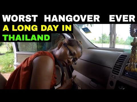 HANGOVER THAILAND AFTERMATH Rural life Thailand Homestead TH