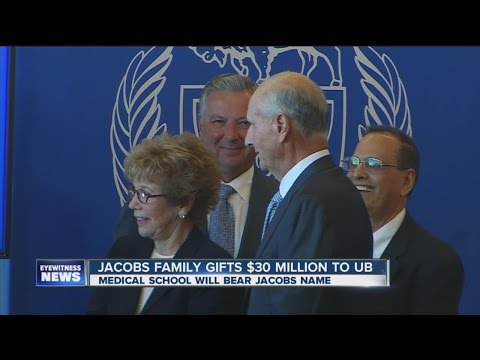 Jeremy Jacobs gifts $30 million to UB medical school