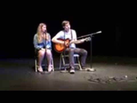 "The Potomac School Talent Show - ""Fly Me to the Moon"" sung by Nick Berray & Maggie Reyes"