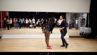 Bachata workshop: fabian and Nicolina at Dance Vida