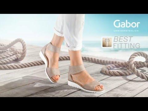 Gabor Shoes AG Best Fitting FrühjahrSommer 2016