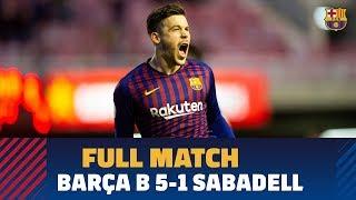 [PARTIDO COMPLETO] Barça B - Sabadell (5-1) | 2ª División B