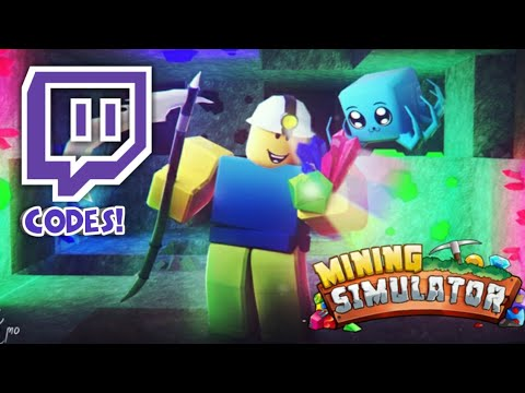 (Outdated)All Twitch Codes In Mining Simulator!