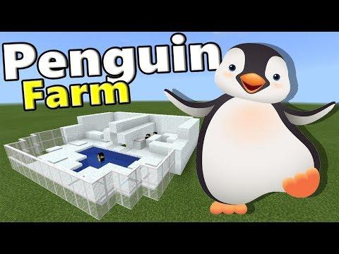 PENGUIN FARM | Minecraft PE