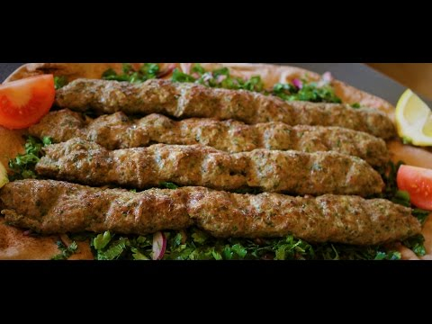 Lebanese Kafta / Kefta Recipe - Ground Beef Skewers