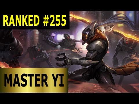 Master Yi Jungle - Full League of Legends Gameplay [German] Let's Play LoL - Ranked #255