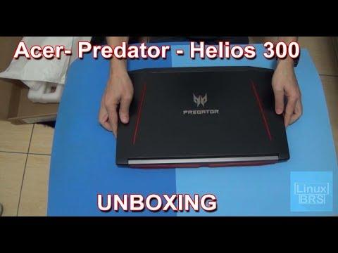 Acer Predator Helios 300 - Notebook Gamer - UNBOXING