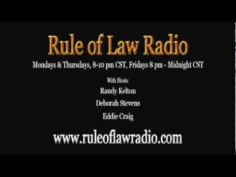 Rule of Law Radio - How to File Criminal Charges Against Public Officials & Vaccine Talk