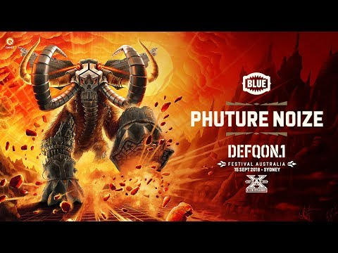 The Colours of Defqon.1 Australia 2018 | BLUE Raw Mix by Phuture Noize