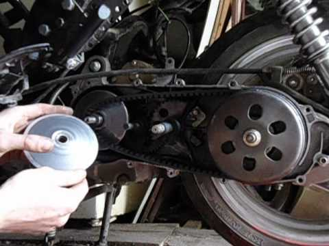 Ремонт скутера Fada/Viper 150 Сборка Двигателя 157QMJ Ч-3.2 - YouTube