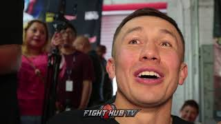 """Gennady Golovkin on fighting Vanes Martirosyan """"This is not easy! One punch can change my life!"""""""