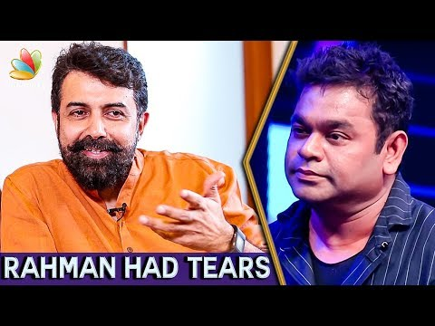 A.R.Rahman had Tears in his Eyes During the Climax : Rajiv Menon Interview | Sarvam Thala Mayam
