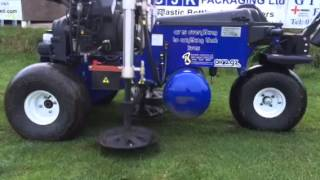 Air2G2 working on a very wet pitch, Hire Air2G2