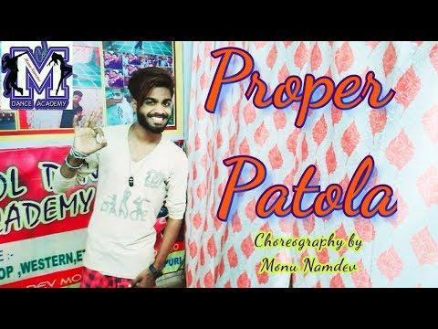 Proper Patola - Namaste England  | Dance Monu Namdev | M.COOL Dance & Drama Academy | |