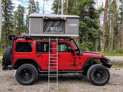 Jeep Wrangler Rubicon Overlanding Rig Walk-around