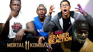 Mortal Kombat 11 - Fighter Customization Trailer Reaction