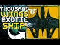 "Destiny 2 - How to get the ""A Thousand Wings"" Exotic Ship!! (Secret Oracle Easter Egg Guide)"