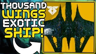 """Destiny 2 - How to get the """"A Thousand Wings"""" Exotic Ship!! (Secret Oracle Easter Egg Guide)"""