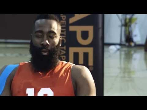 James Harden Trains Hard And Uses Kt Tape For Performance