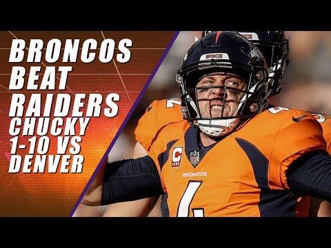 Denver Broncos vs Oakland Raiders: Recap Highlights