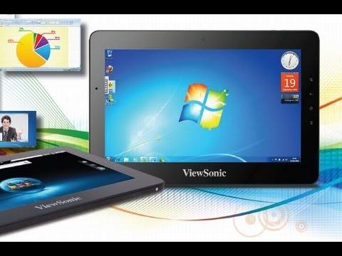 Tablets ViewSonic en el MWC 2012: Android y Windows 8