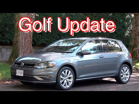VW Golf Update //  New Engine And The Future Of The Golf Family