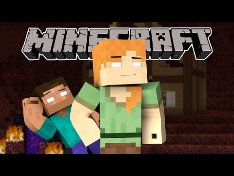 Thumbnail: If Herobrine Alex Existed - Minecraft