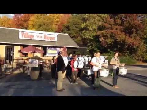 Dunwoody High School Drumline at Village Burger