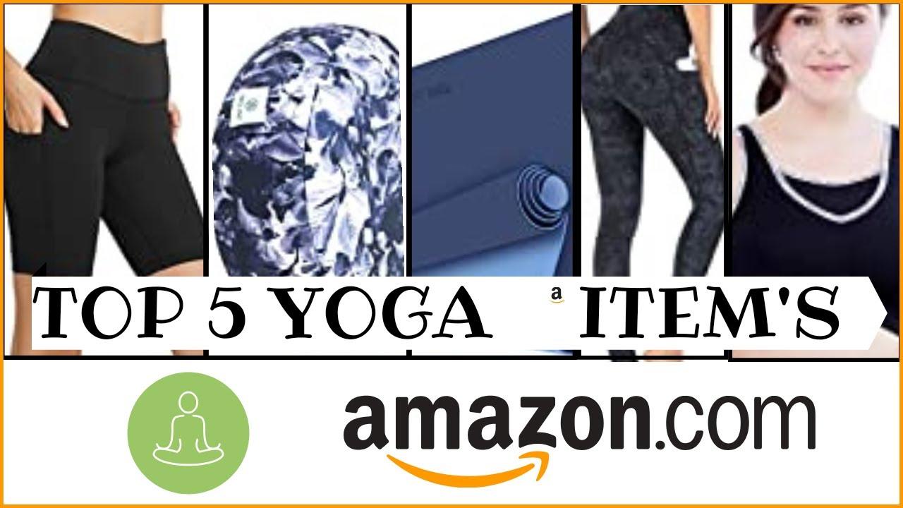 Top 5 Yoga Items In Amazon Youtube