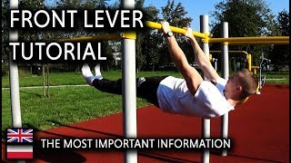 Front Lever Tutorial (By Michal Urbanik)