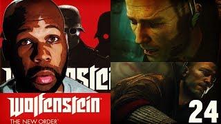 Wolfenstein The New Order Gameplay Walkthrough Part 24 - Berlin Catacombs Pt. 3