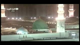 Great Isha Azan Masjid Nabvi Madina sharif.