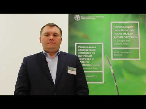 Interview with Andrii Chelombitko -- Regional expert consultation on plant health and protection