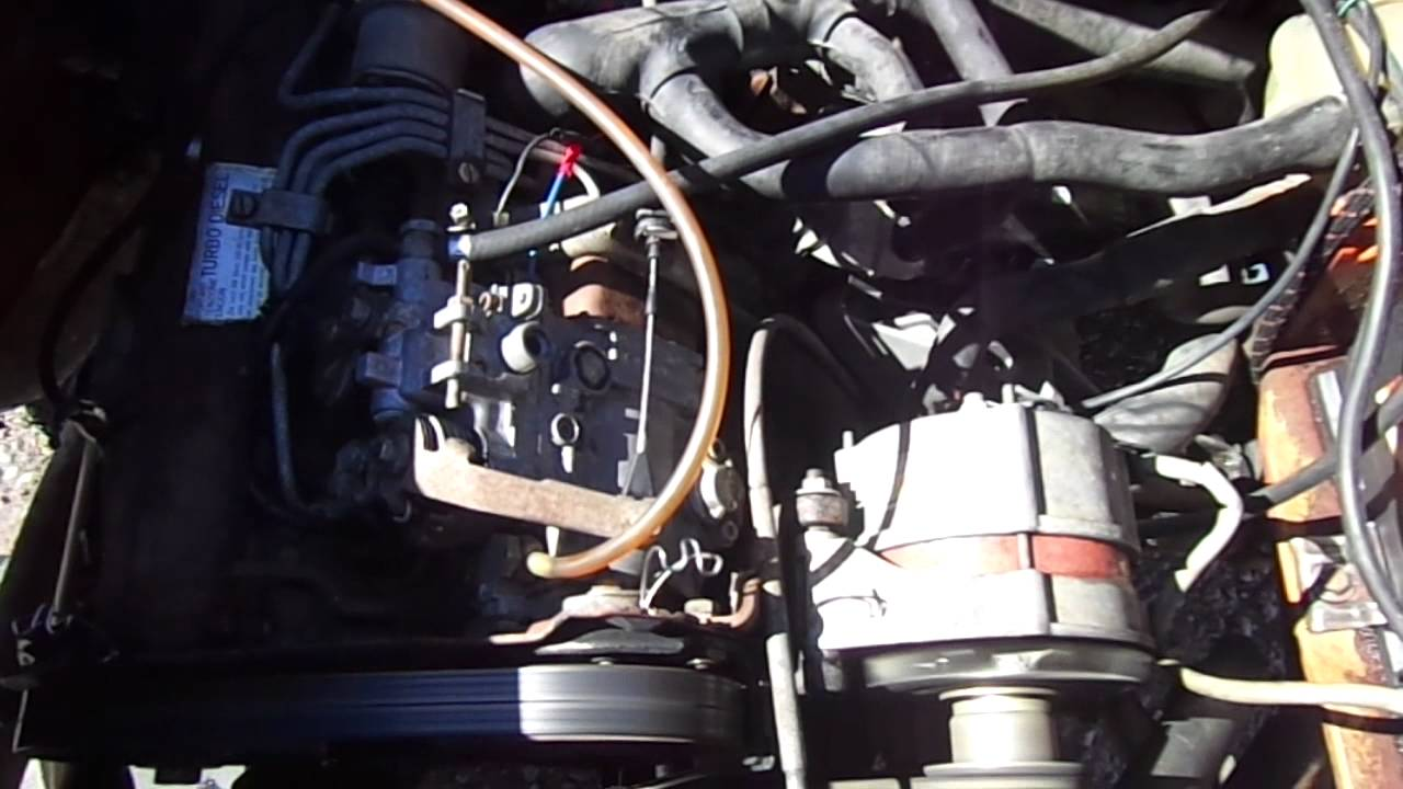 Vw 1 6 Turbo Diesel Engine For Sale Runs Good Youtube