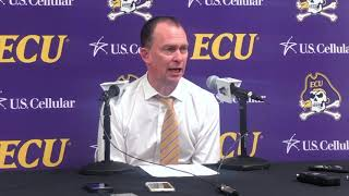 ECU vs. Tulsa Postgame Press Conference