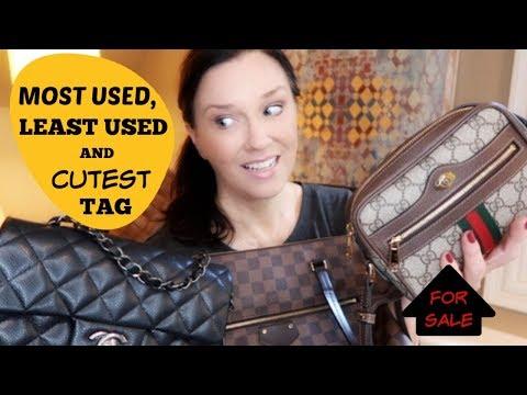 MOST USED, LEAST USED, CUTEST BAG TAG