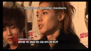 SS501 U R Man Showcase Making Film 02 (eng subbed)