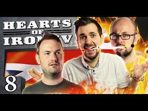 Hearts of Iron IV - Puppet Revolution #8 - Friends With The Enemy