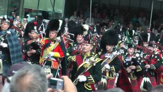 Massed Pipe and Military Bands from the Edinburgh Tattoo 2012