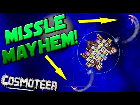 ARE MISSILES THE ANSWER?! - Cosmoteer Gameplay Ep10