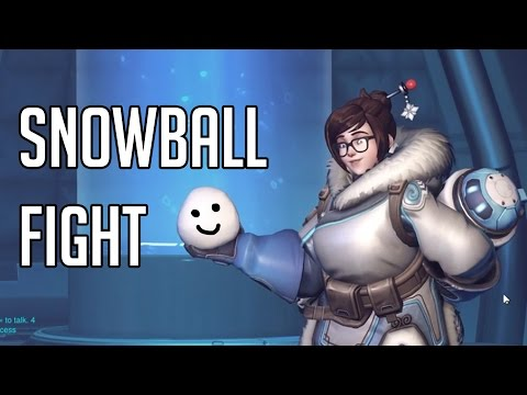 [Overwatch] Snowball fight to the death