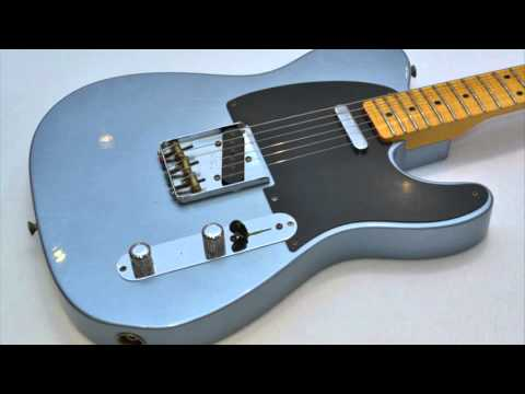 Country Blues Backing Track