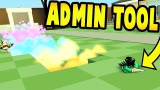 I GOT THE ADMIN TOOL! Yard Work Simulator | Roblox