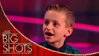 Comedian Nathan Gives Us A Hilarious Interview! | Little Big Shots