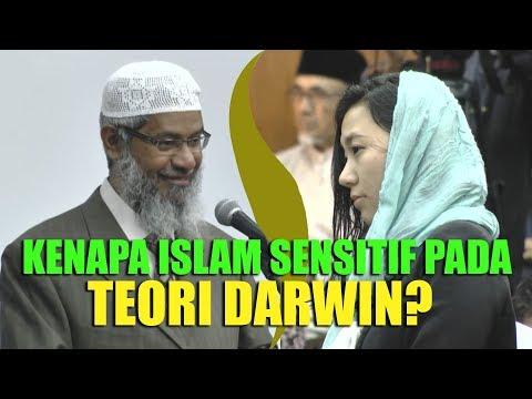 GADIS JEPANG Bertanya Kenapa ISLAM SENSITIF Dengan TEORI EVOLUSI?   Dr. Zakir Naik