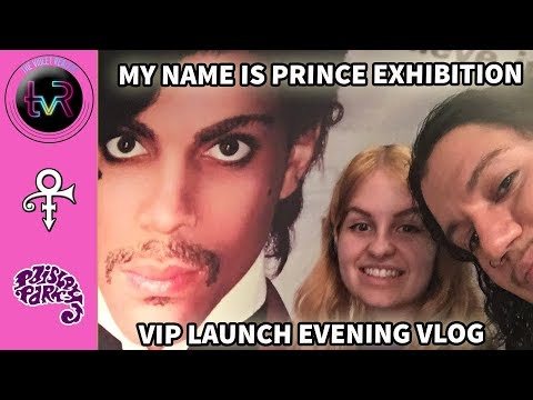 My Name Is Prince Exhibition - VIP Opening Night! The O2, London.
