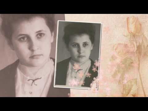 Поздравление с юбилеем маме и бабушке. Слайд-шоу с юбилеем 70 лет. Видео поздравление с юбилеем.