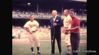 Old Timers Day at Yankee Stadium - 1965